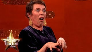 Olivia Colman's Genius Life Hack For Impersonating The Queen | The Graham Norton Show
