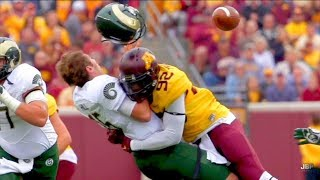 Hardest Hits of the 2016-17 College Football Season || Part 1 ᴴᴰ