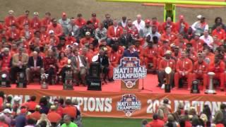 TigerNet.com - Clemson National Championship celebration - Part 1