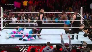 Brock Lesnar Returns to RAW January 11, 2016