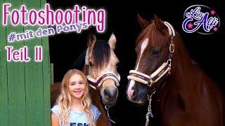 Lia & Alfi - Fotoshooting mit den Ponys - Teil2