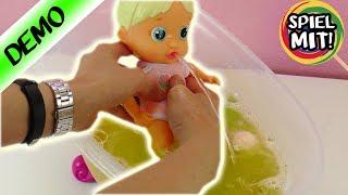 Bloopies Bath Toy | Puppe kann tauchen, Wasser spucken & Seifenblasen | Badespaß Baby Born Badewanne