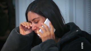 Kim Kardashian SOBS After Kanye