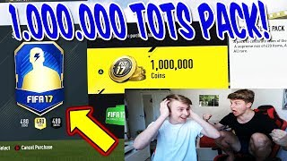 BESTES TOTS SERIE A 1.000.000 COINS PACK!! ⛔️🔥⛔️ - FIFA 17 PACK OPENING ULTIMATE TEAM (DEUTSCH)