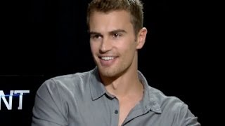 Theo James Speed Date Interview