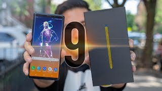 Samsung Galaxy Note 9 Unboxing!