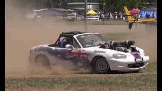Summernats Grass Events - Playing In the Dirt