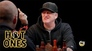 Michael Rapaport Talks LeBron James, Phife Dawg, & Reality TV  While Eating Spicy Wings | Hot Ones