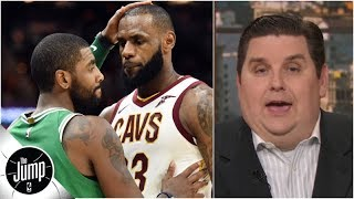 The Kyrie Irving-LeBron James phone call story, dissected | The Jump