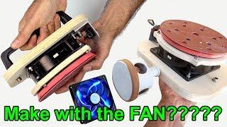 How to make Orbital Sander with fan ?????