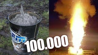 BOM VAN 100.000 STERRETJES AFSTEKEN