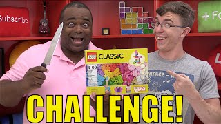 GROWN MEN Playing with Legos CHALLENGE!