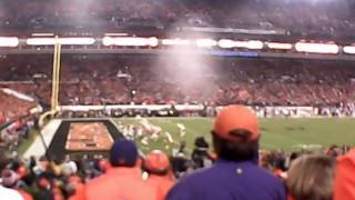 Clemson fans reaction to final play of Natty