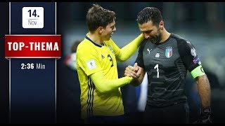 Nach verpasster WM mit Italien: Die Ära Buffon endet