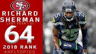 #64: Richard Sherman (CB, 49ers) | Top 100 Players of 2018 | NFL