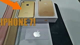 IPHONE 7 FOUND!!!! Free Gold iPhone 7 Found @ Apple Store! HIT THE JACKPOT!