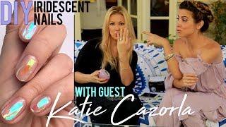 DIY: Iridescent Nails w/ Katie Cazorla (E! Second Wives Club)