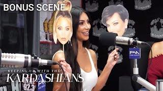 "Kim Kardashian Plays ""Kreeping Up With the Kardashians"" With Big Boy | KUWTK Bonus Scene | E!"