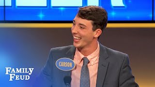 Steve does BIBLE STUDY | Family Feud