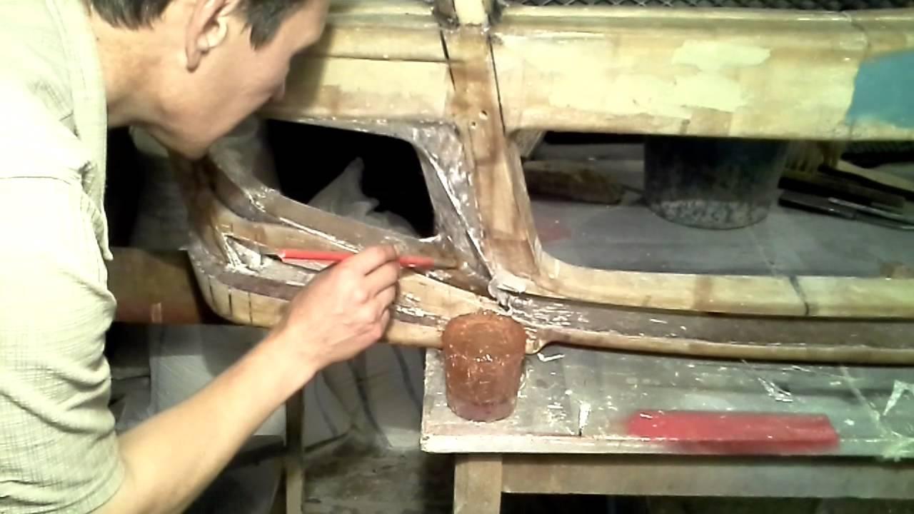 Ремонт кузова своими руками стеклотканью