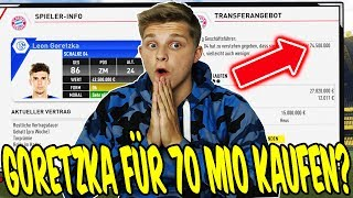 FIFA 17 KARRIEREMODUS - GORETZKA für 70 MIO KAFUEN? ⚽⛔️ - GAMEPLAY BAYERN KARRIERE (DEUTSCH) #103
