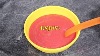 How to Make Homemade Apple, Carrot & Beetroot Puree | Baby food | Starting from 6 months