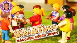 BIBI & TINA MÄDCHEN GEGEN JUNGS | Playmobil Battle Rap | CuteBabyMiley