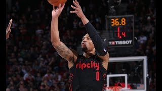 Top Plays From Damian Lillard
