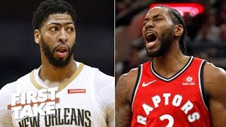 Anthony Davis & Kawhi on the same team would be a 'nightmare' for NBA – Max Kellerman   First Take