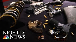Woman Fights Gun Violence By Turning Illegal Firearms Into Jewelry | NBC Nightly News