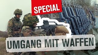 Der Umgang mit Waffen | SPECIAL