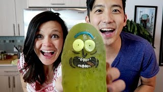 We Made a Real Life PICKLE RICK from Rick and Morty!