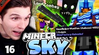 MEINE ERSTE SCHUSSWAFFE! & ENDERMAN FALLE! ✪ Minecraft Sky #16   Paluten