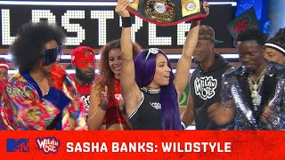 WWE's Sasha Banks Lays the SMACK DOWN on Nick Cannon 💪   Wild