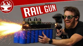 Making a RAILGUN and then TESTING it!