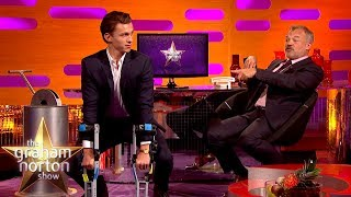Tom Holland Does an AMAZING Chimp Impression! | The Graham Norton Show
