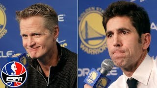 Draymond Green suspension press conference with Steve Kerr, Bob Myers | NBA 2018-19
