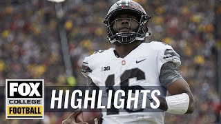 Ohio State vs Michigan | Highlights | FOX COLLEGE FOOTBALL