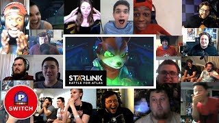 Live Reaction   STARLINK: Battle for Atlas (Star Fox Trailer)   E3 2018    Synched Compilation