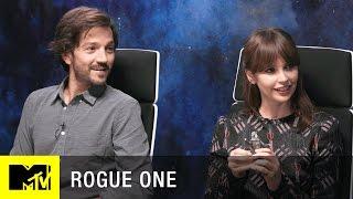 Star Wars: Rogue One Interview w/ Felicity Jones, Diego Luna, & Josh Horowitz   MTV Live