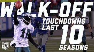 Every Walk-Off Touchdown from the Last 10 Seasons | #TDTuesday | NFL Highlights