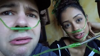 THIS IS PROBABLY VERY DANGEROUS!! (HELGAS FIRST VIDEO) | David Dobrik