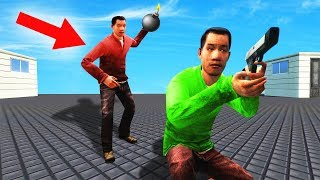RUN WITHIN 3 SECONDS OR DIE! (Gmod Bomb Tag)
