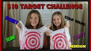 $10 TARGET CHALLENGE || Taylor & Vanessa