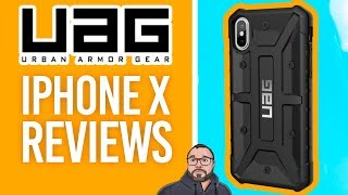 UAG iPhone X Case Reviews - 4K