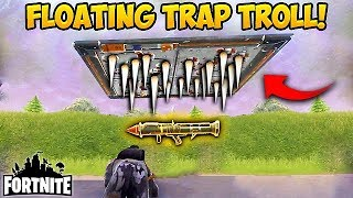 FIRST EVER FLOATING TRAP TROLL! - Fortnite Funny Fails and WTF Moments! #160 (Daily Moments)