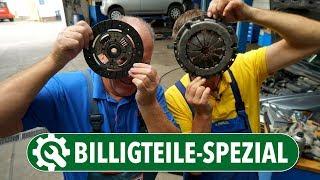 Wie Billig-Ersatzteile Autos lahmlegen   Billig vs. Erstausrüsterqualität   Kupplung, LMM & Bremsen