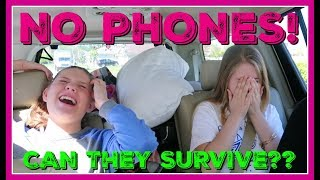 NO PHONE CHALLENGE || WILL THEY SURVIVE WITHOUT THEIR PHONES? ||