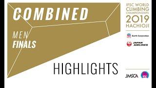 IFSC Climbing World Championships - Hachioji 2019 - Combined Men Final Highlights