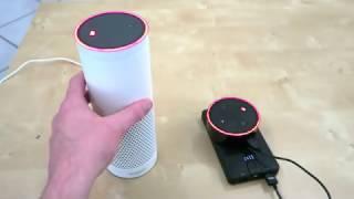 Eine Woche mit Alexa auf deutsch an dem Amazon Echo